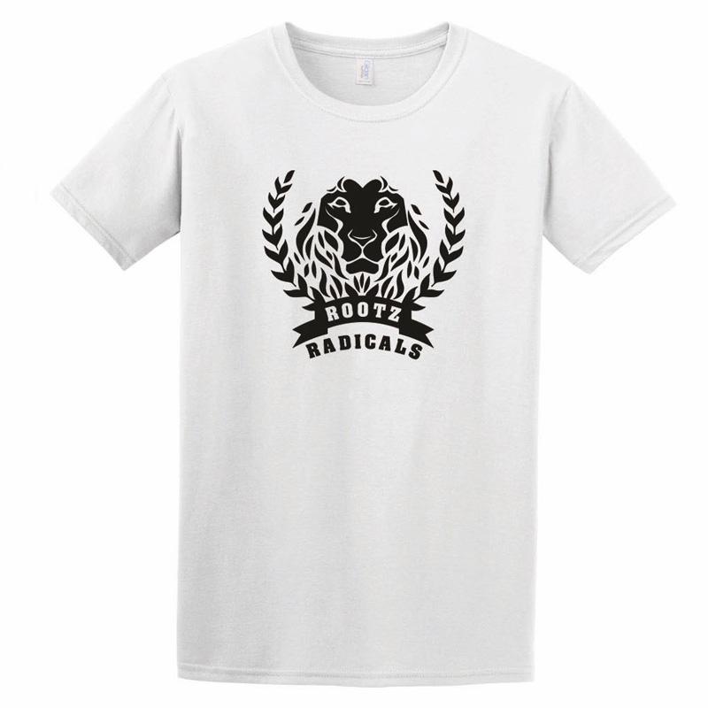 Shirt Lion in weiß von Rootz Radicals